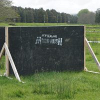 Obstacle Wooden 5 foot wall