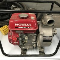 Water Pump – Hire $125 per day + Petrol – (cones with 20m length)